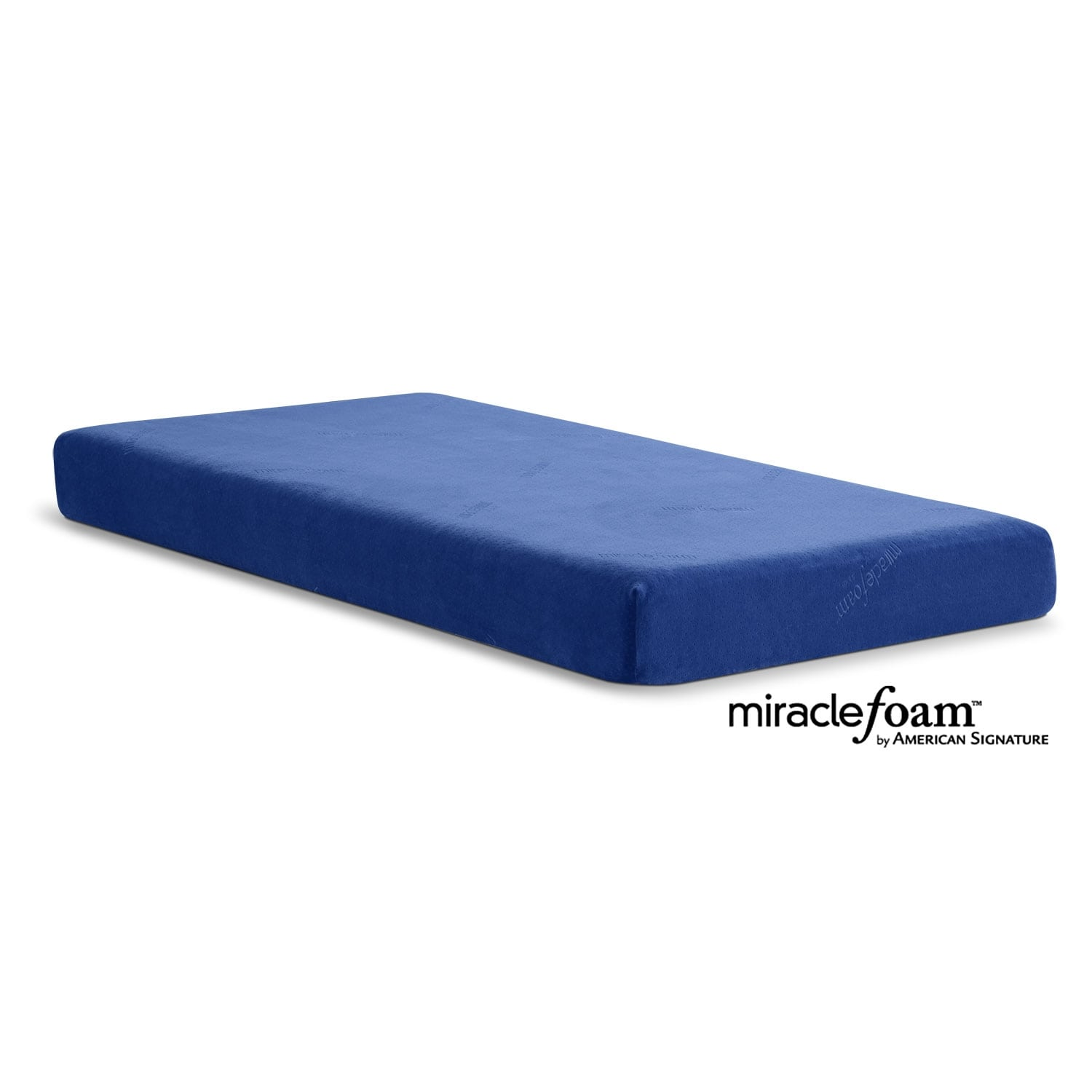 Mattresses and Bedding - Renew Blue Twin Mattress w/ Cover