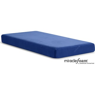 Renew Blue Medium Firm Twin Mattress - Blue