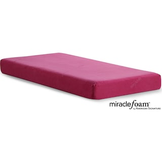 Renew Pink Twin Mattress w/ Cover
