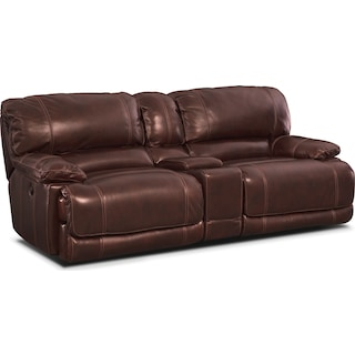St. Malo 3-Piece Power Reclining Sofa with Console