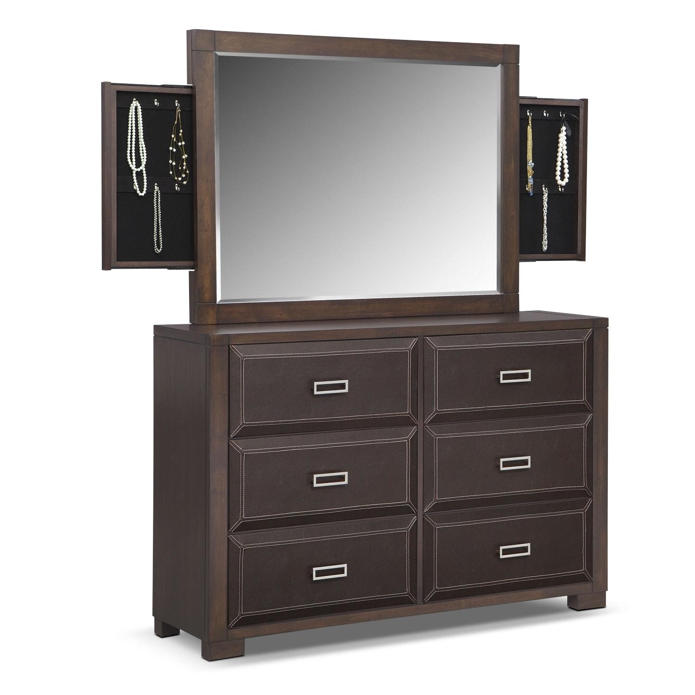 Bedroom Furniture - Mason Dresser & Storage Mirror