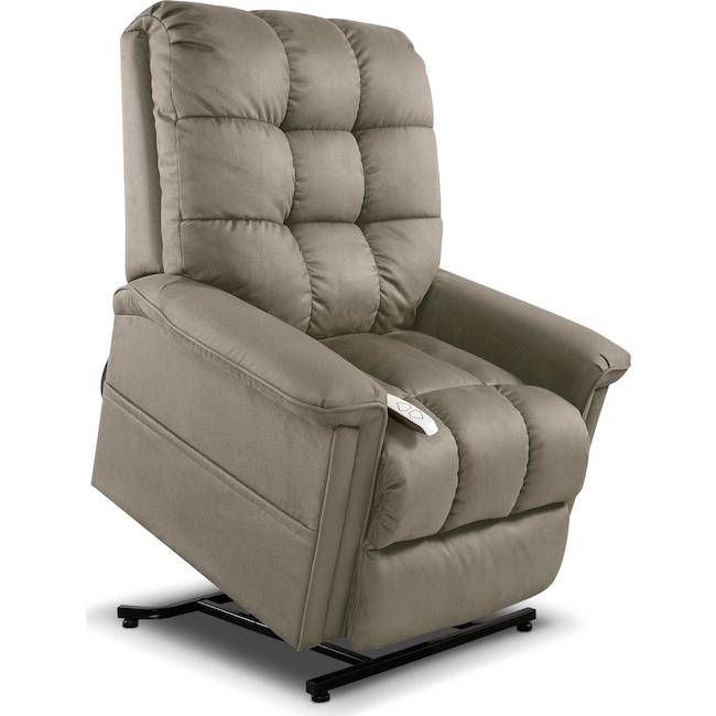 Living Room Furniture - Bea Lift Chair - Stone