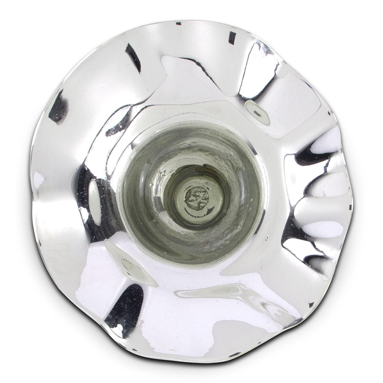 "Mercury Silver 19"" Wall Décor"