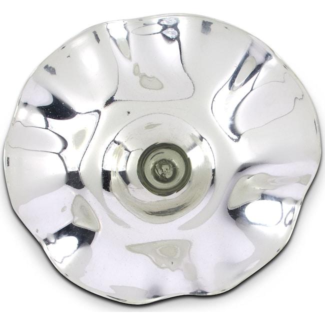 "Home Accessories - Mercury Silver 21"" Wall Décor"