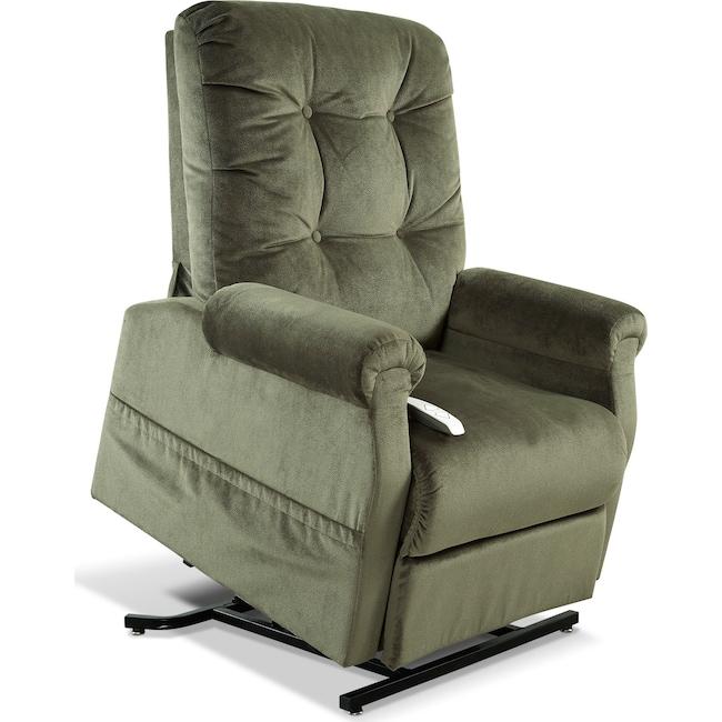 Living Room Furniture - Elmer Lift Chair - Hunter