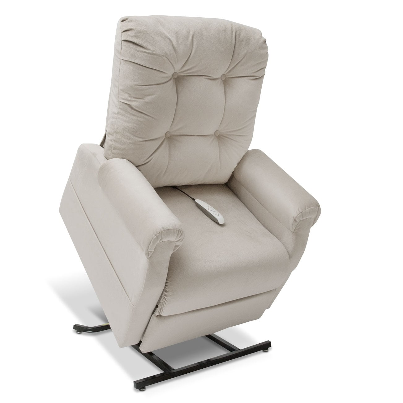 Living Room Furniture - Elmer Lift Chair - Linen