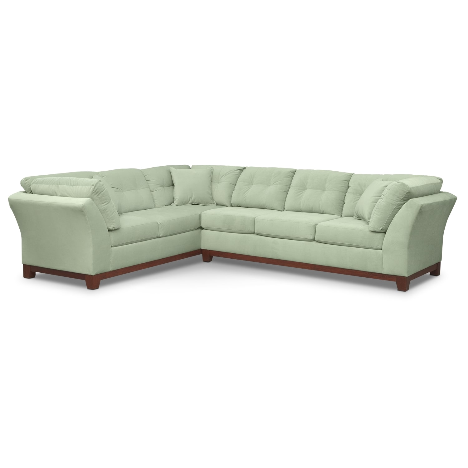 Sebring 2-Piece Sectional  with Right-Facing Sofa - Spa