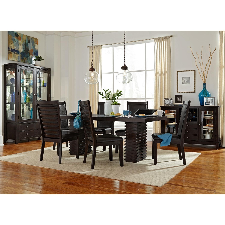 Paragon Dining Table Merlot American Signature Furniture