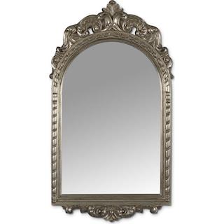Kelsey Mirror - Antique Silver