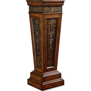 Standaway Accent Pedestal - Dark Brown
