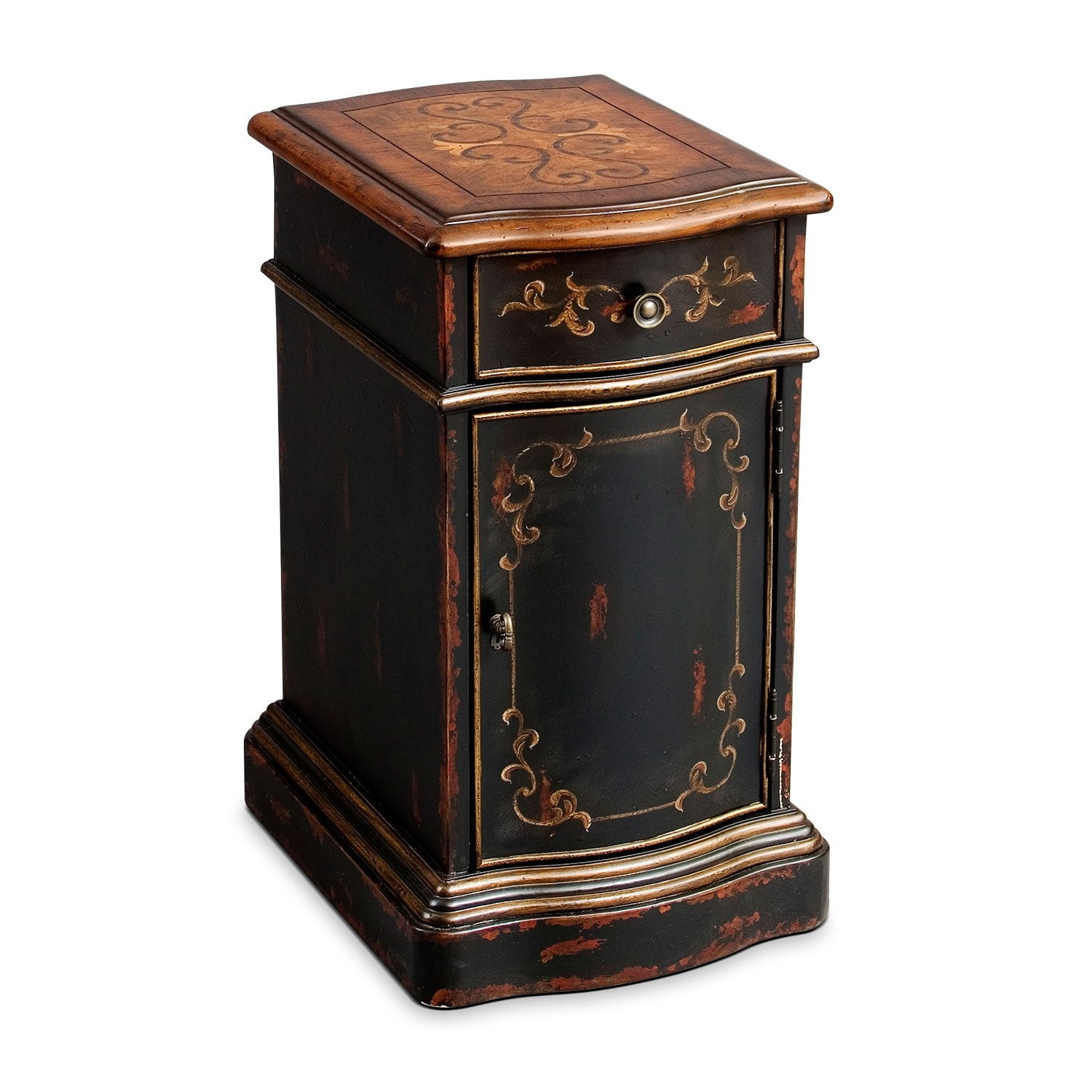 [Baroque Chairside Table]