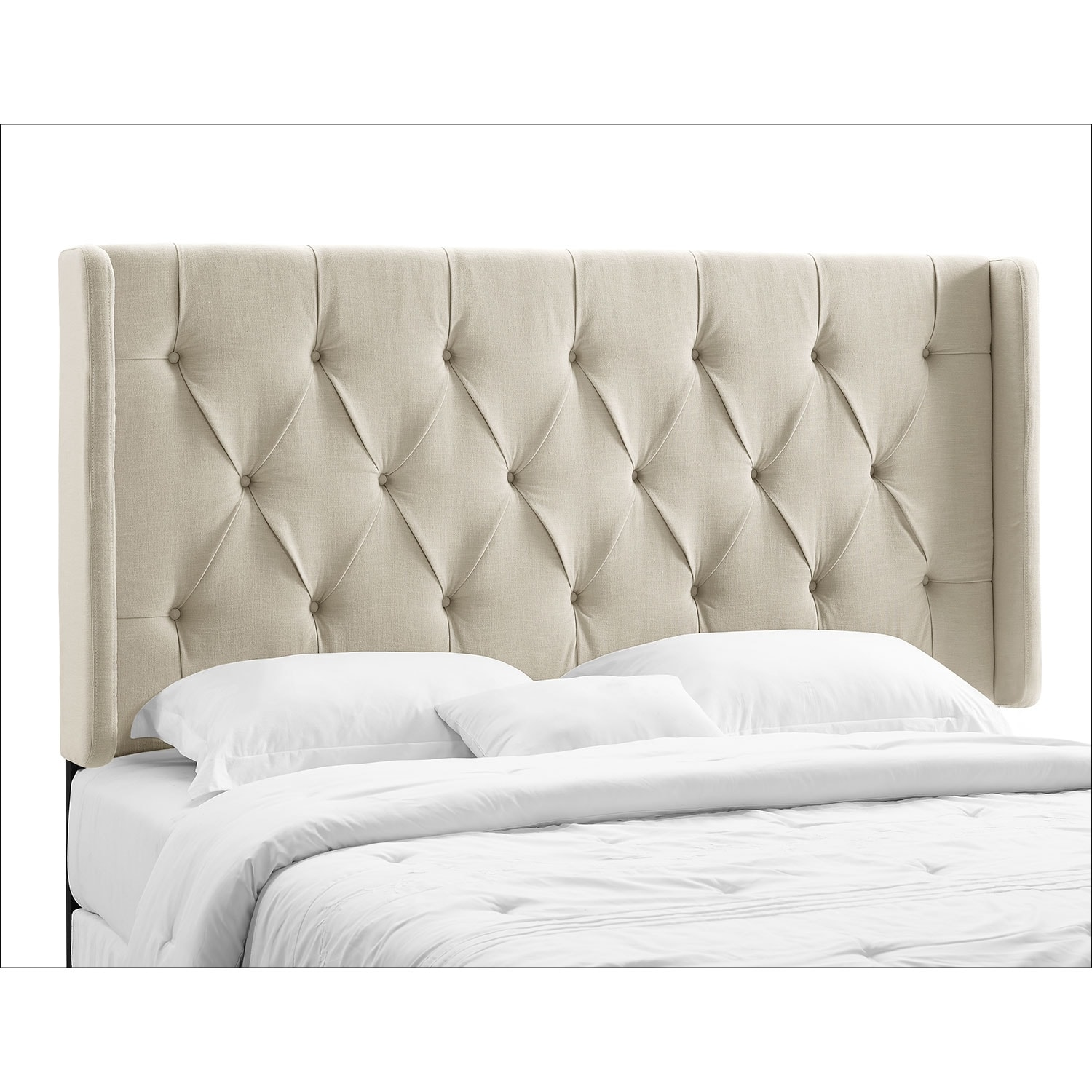 Bedroom Furniture - Winston Cream King/California King Headboard