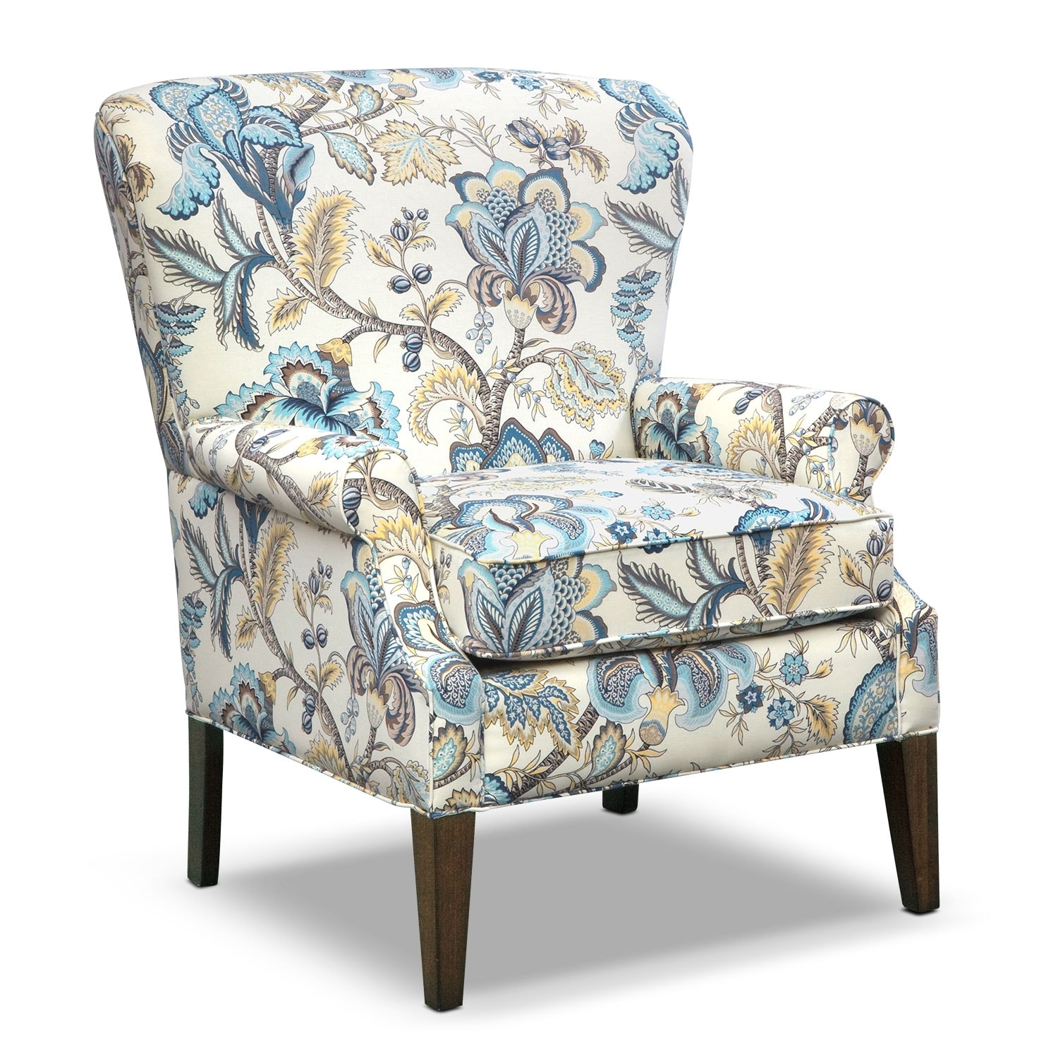 Living Room Furniture - Charlotte III Accent Chair