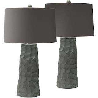 Thumbprint 2-Pack Table Lamp Set