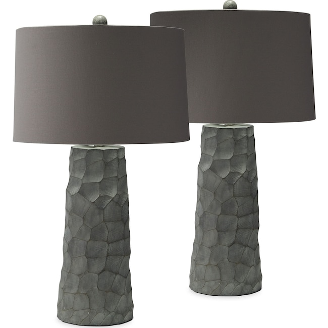 Home Accessories - Thumbprint 2-Pack Table Lamp Set