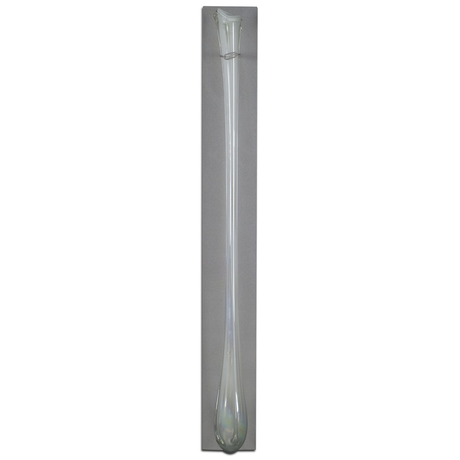 Home Accessories - White Glass Flute Wall Décor