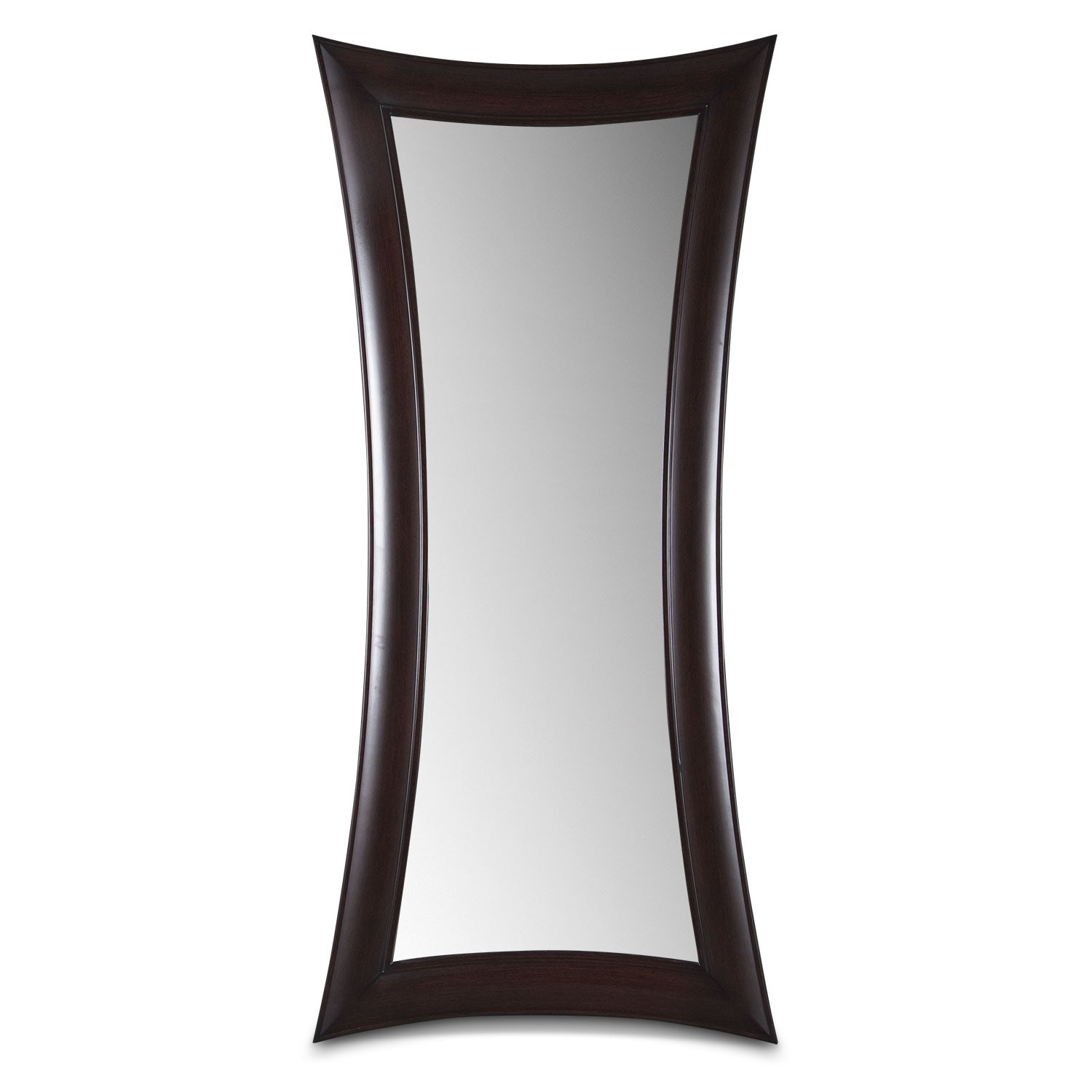 Home Accessories - Abigail Wenge Floor Mirror