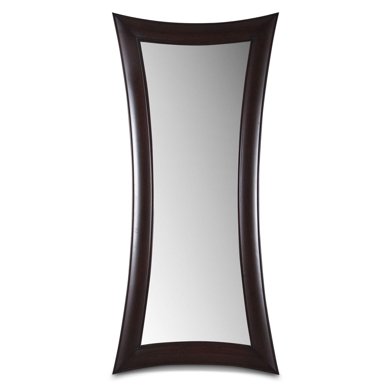 Home Accessories - Abigail Wenge Floor Mirror