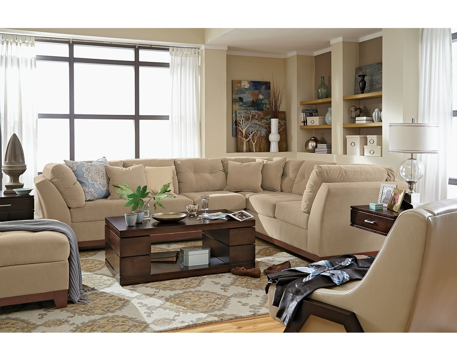 The Solace Sectional Collection - Cocoa