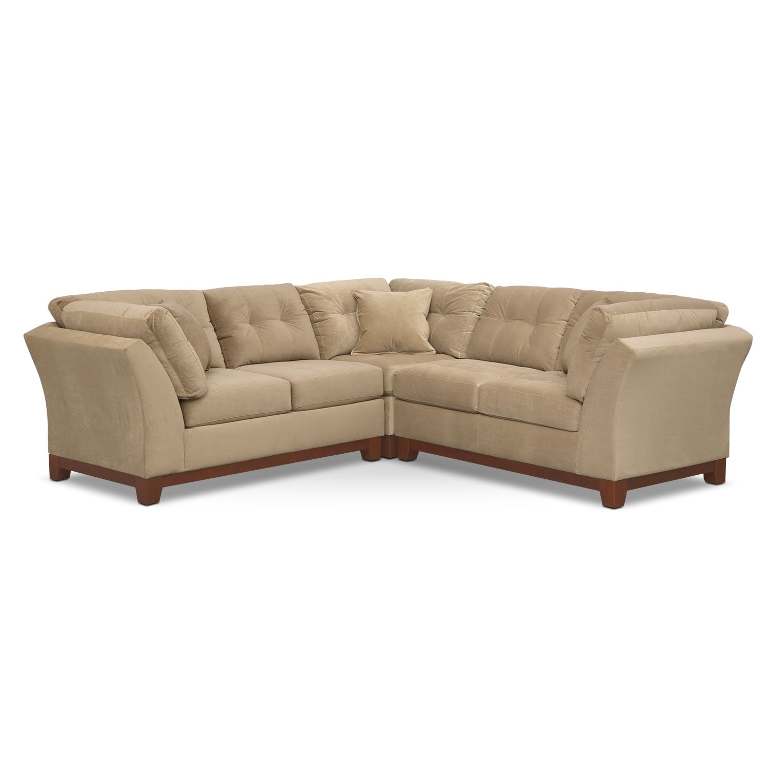 Solace 3-Piece Sectional - Cocoa