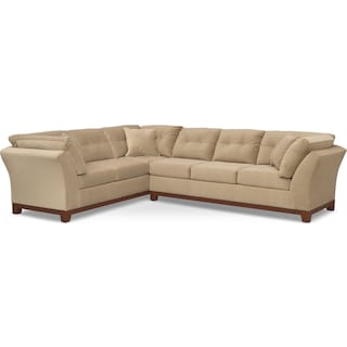 Sebring 2-Piece Sectional with Right-Facing Sofa - Cocoa