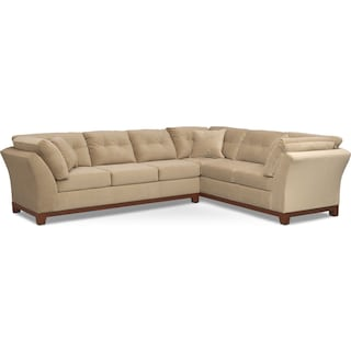 Sebring 2-Piece Sectional with Left-Facing Sofa - Cocoa