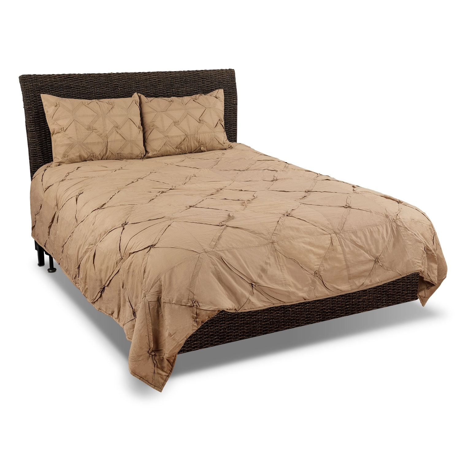 Accent and Occasional Furniture - Pomona King Quilt