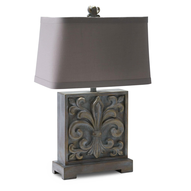 Home Accessories - Fleur de Lis Table Lamp
