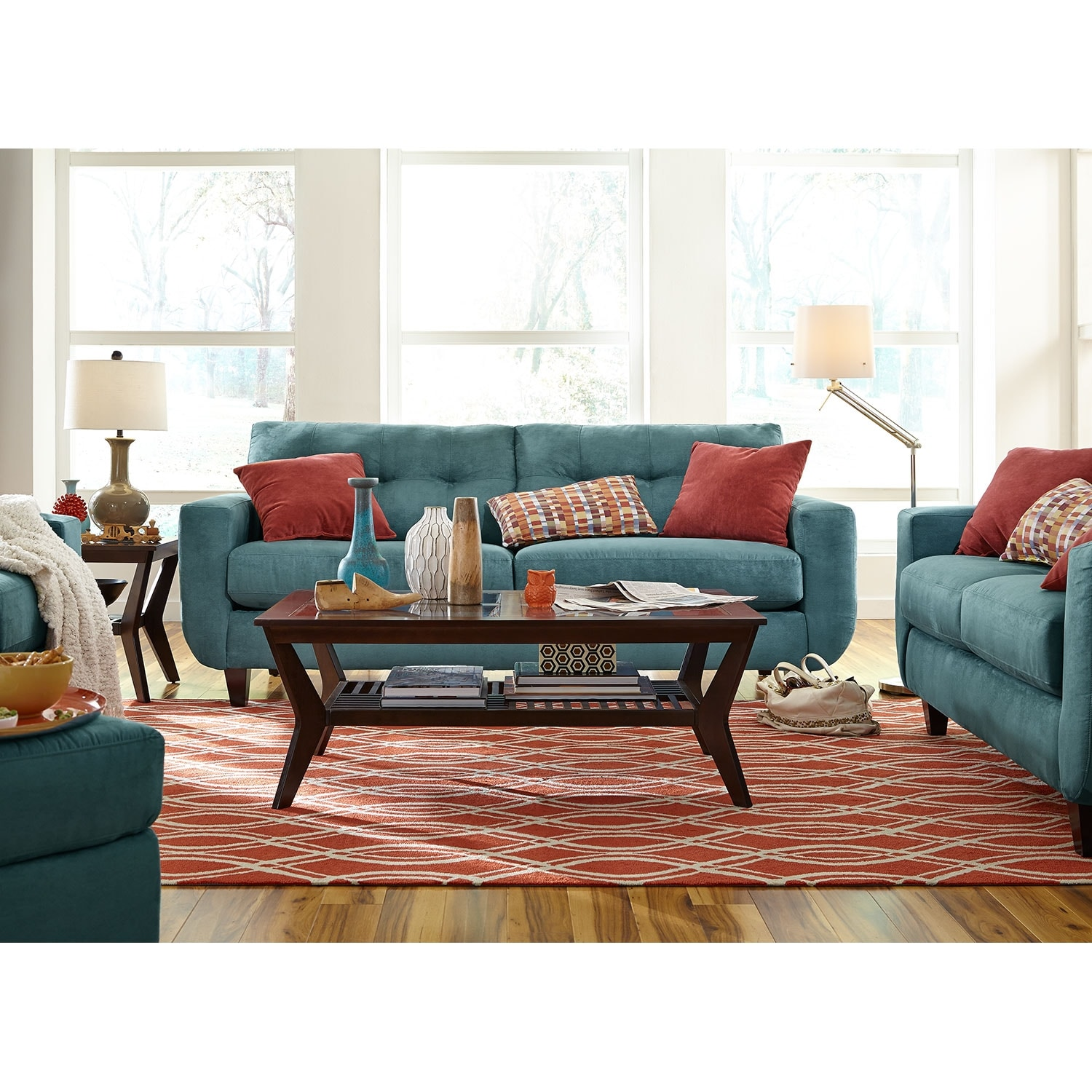 American signature furniture living room home design for American signature couch