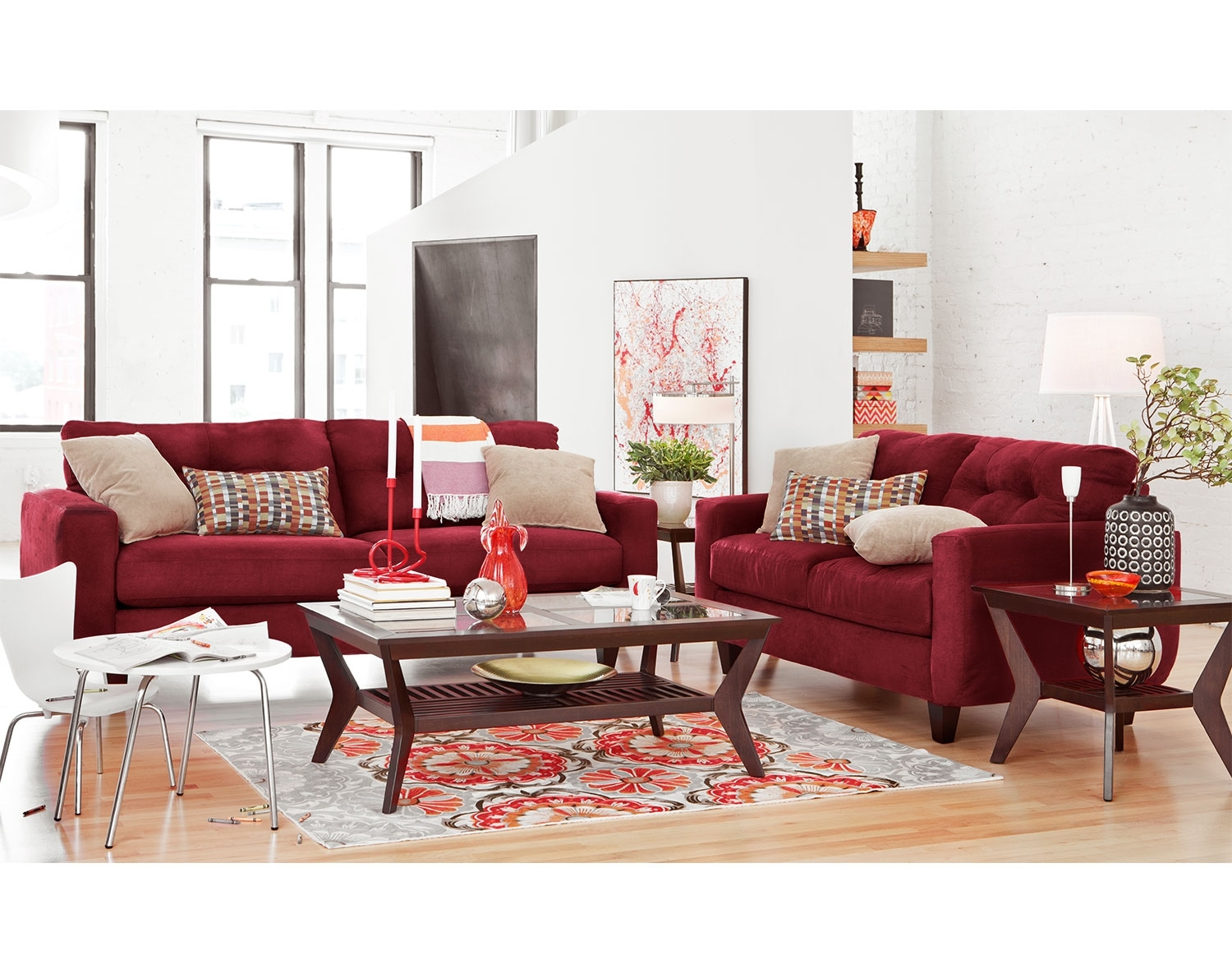 The West Village Collection - Red