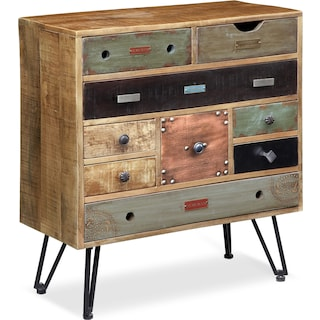 Traveler Accent Cabinet - Multi