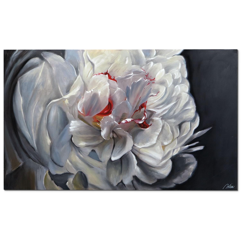 Floral Elegance Canvas Print