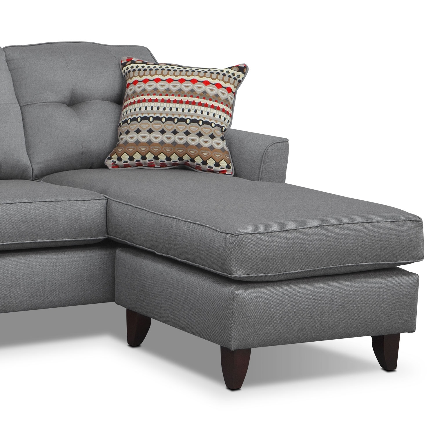 sofa with ottoman chaise. Black Bedroom Furniture Sets. Home Design Ideas