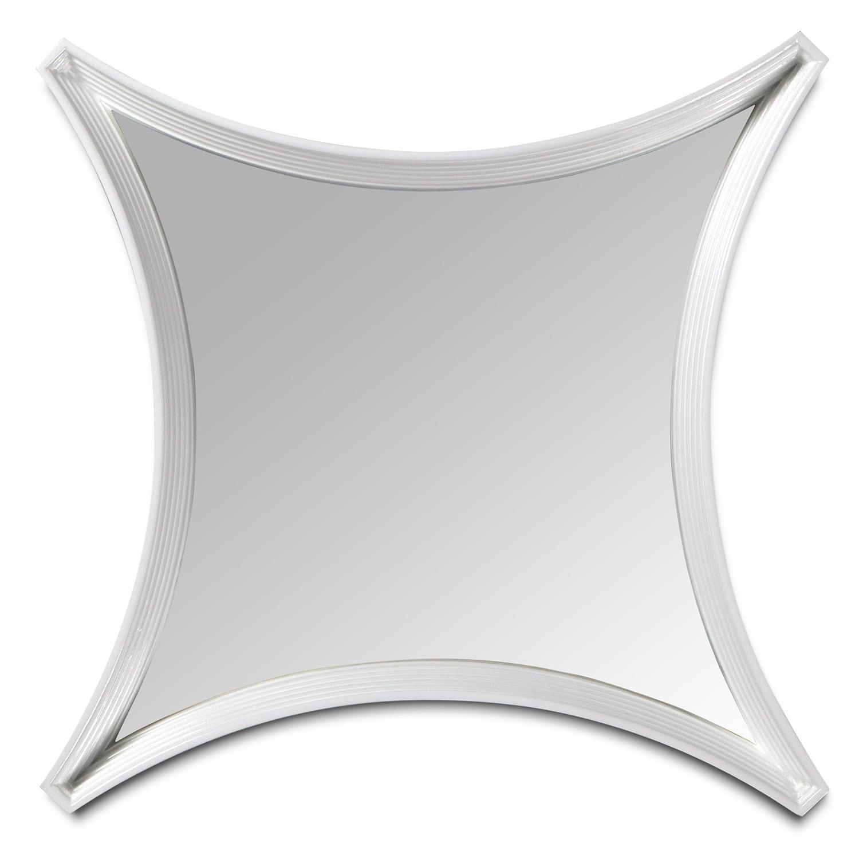 "Home Accessories - Mya 24"" Mirror -- White"