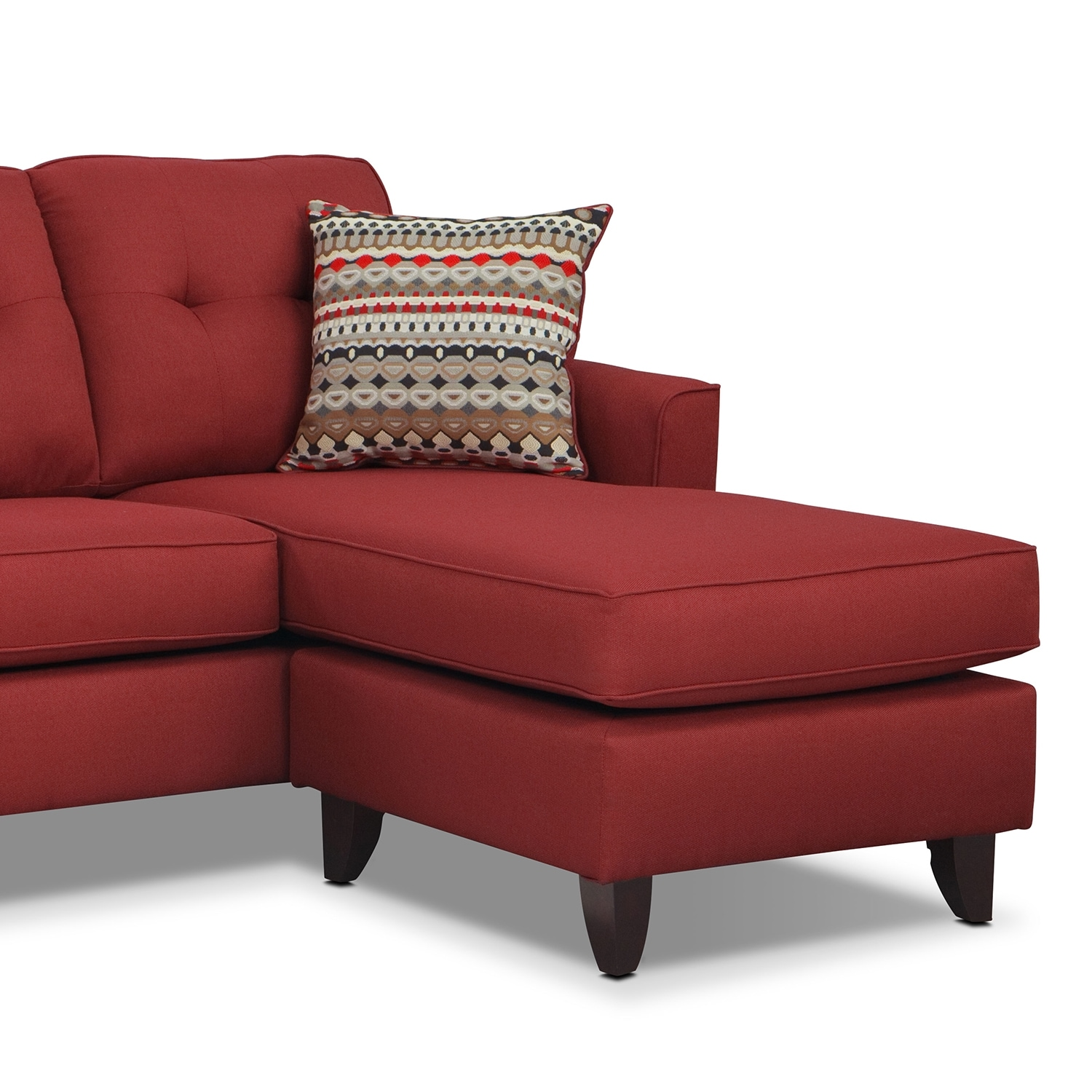 Marco Chaise Sofa Red