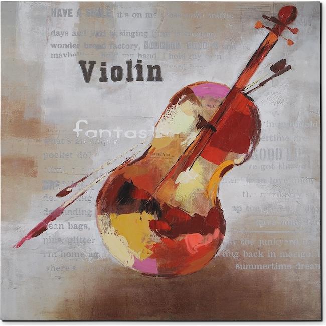 Home Accessories - Violin Canvas Print