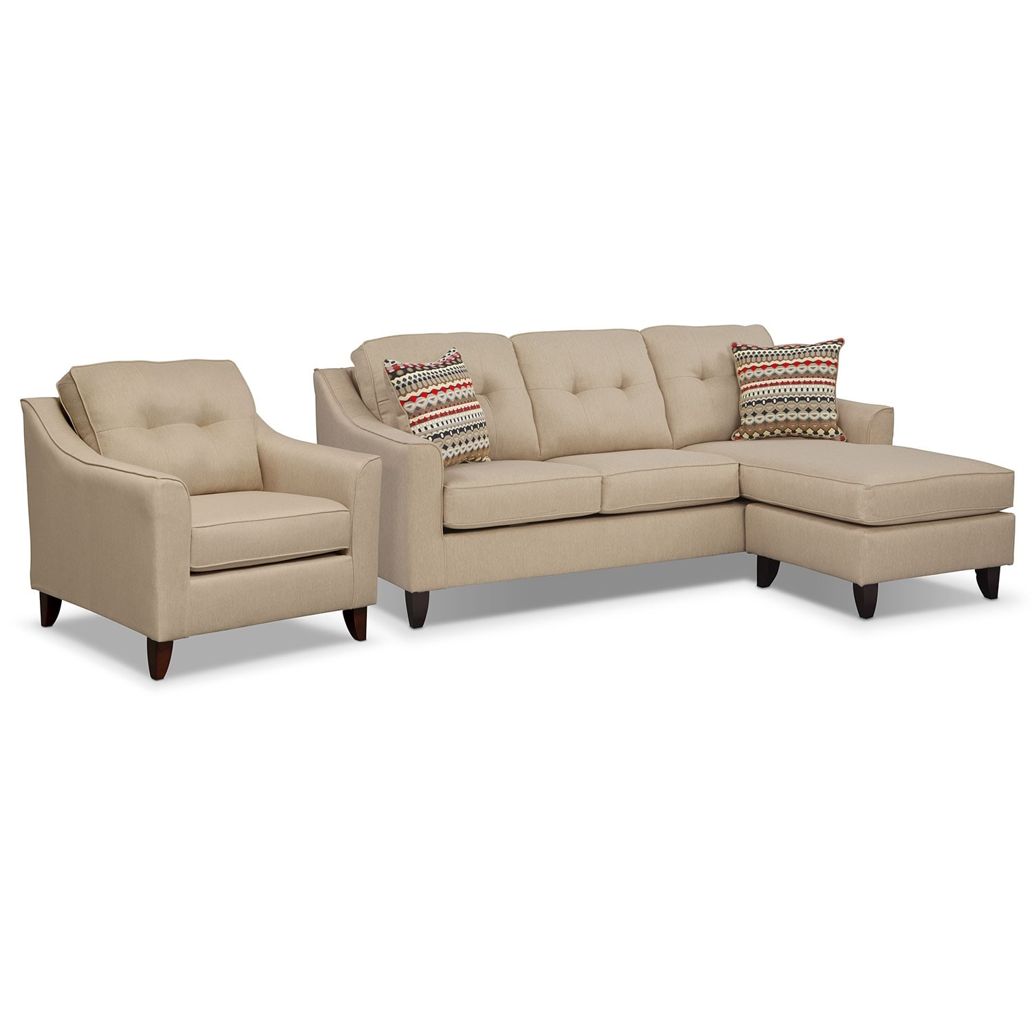 On sale furniture american signature furniture for American signature furniture commercial chaise