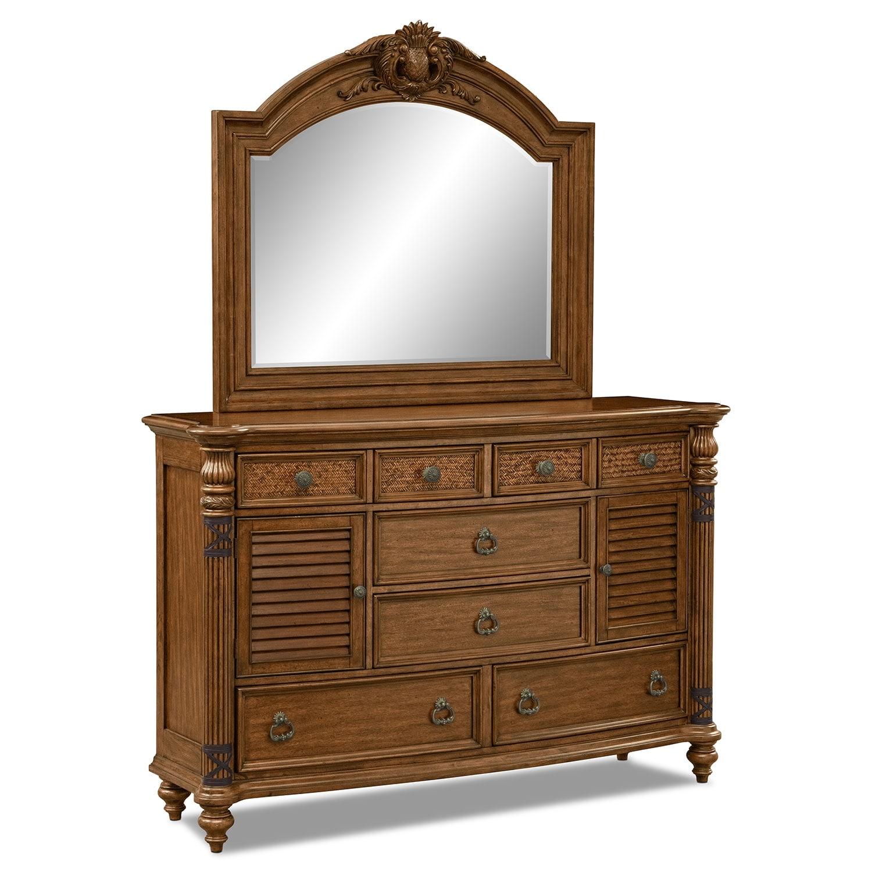Bedroom Furniture - Key Largo Dresser & Mirror