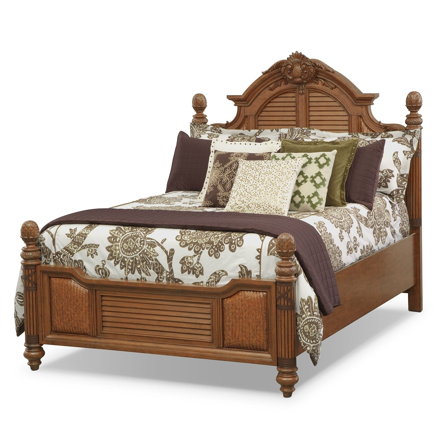Accent and Occasional Furniture - Marlena King Bedding Set