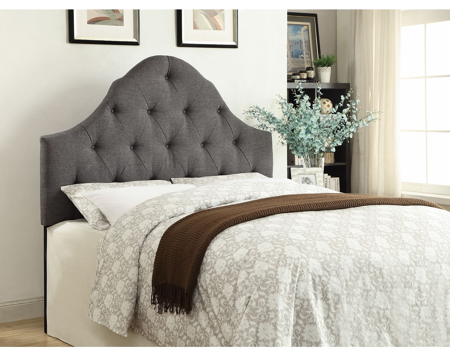 Brittany Gray Headboard Collection
