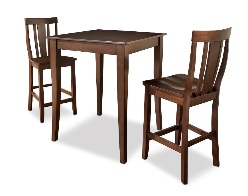 West Pub Table And 2 Chairs American