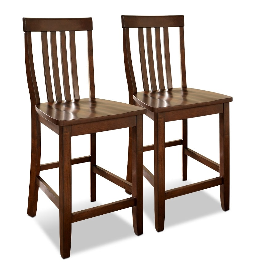 Dining Room Furniture - Melrose 2-Pack Barstools