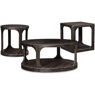 The Prentice Collection - Weathered Black