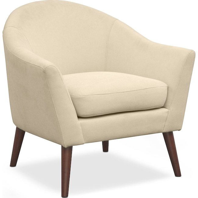 Accent and Occasional Furniture - Rosa Accent Chair - Ivory