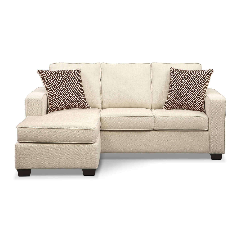 Memory Foam Sleeper Sofa: Sterling Memory Foam Sleeper Sofa With Chaise