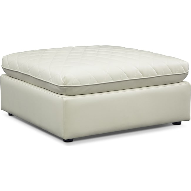 Living Room Furniture - Coco Ottoman - Mist