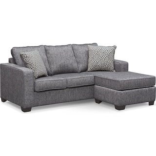 The Sterling Charcoal Sleeper Sofa Collection