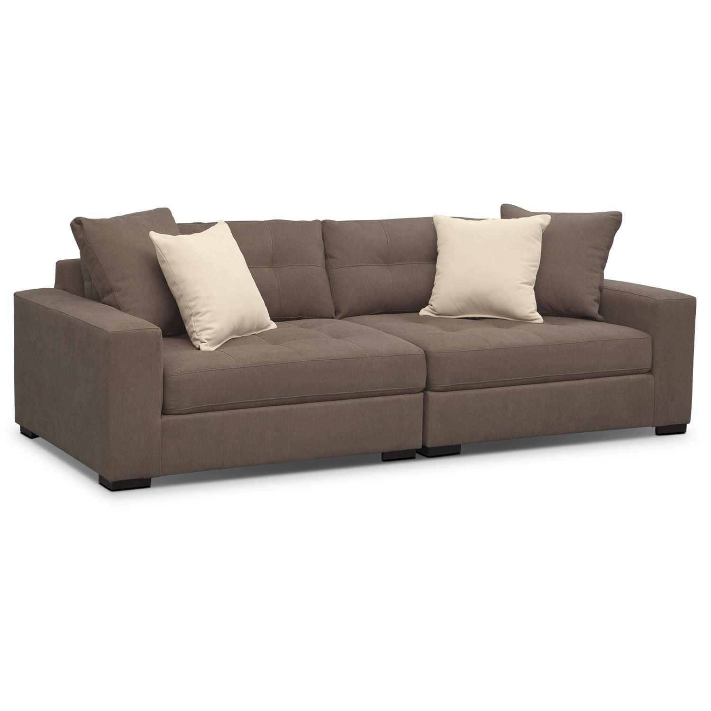 Living Room Furniture   Venti Modular Sofa   Mocha