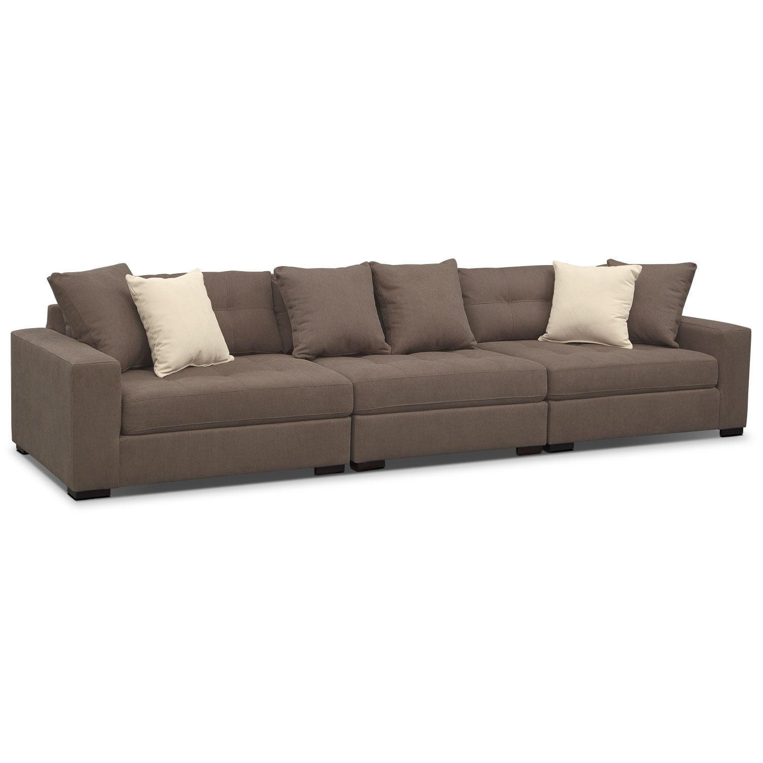 Venti 3-Piece Sectional - Mocha