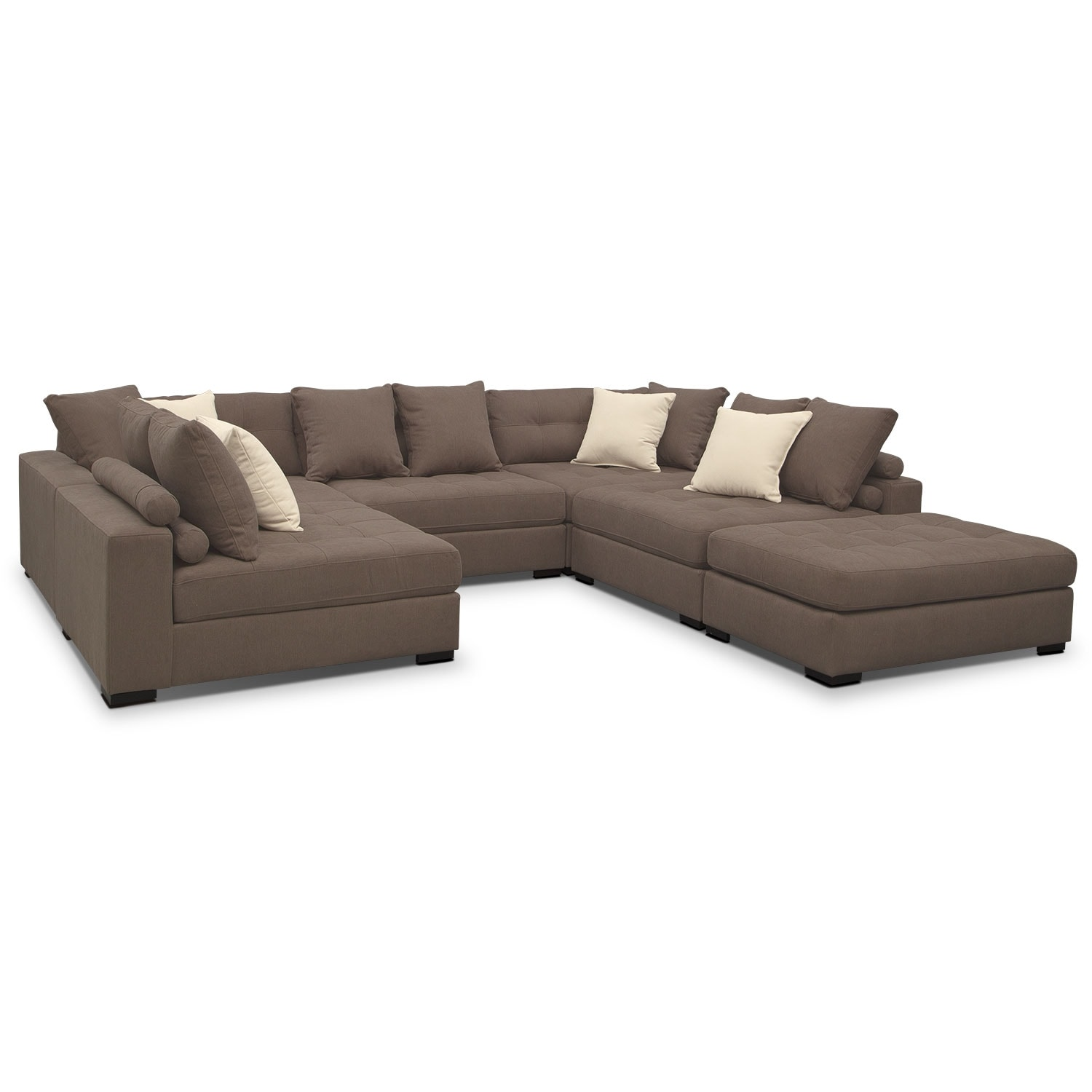 Venti 6-Piece Sectional - Mocha